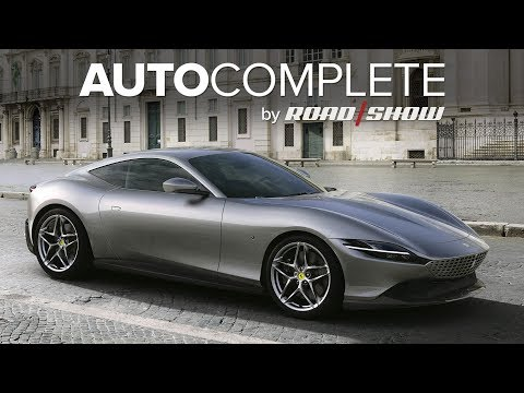 AutoComplete: Ferrari's Roma coupe is its prettiest and cheapest fixed-roof