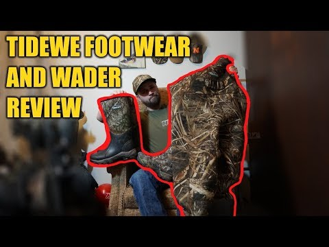 Tidewe Boot And Wader Review | Hunting Boot Camp
