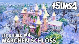 Die Sims 4 Märchen Schloss bauen #4 | Schlittschuhbahn (deutsch)