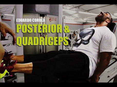 Treino e dicas: Posterior e Quadríceps