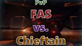 Elite: Dangerous PvP - FAS vs. Chieftain(CMDR Sheuzzo) - Ramming Speed!