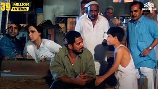 Nana Patekar Motivated a Kid Comedy Fight Scene | Krantiveer Movie