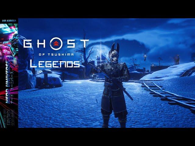 Ghost Of Tsushima - Legends Solo Run Überlebens Modus  #1 ☯ 1440p [Deutsch] PS4 Pro