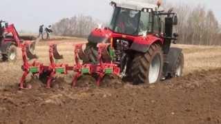 Pokazy pracy w polu: ciągniki Massey Ferguson i maszyny SULKY, Gregoire-Besson, Unia Group