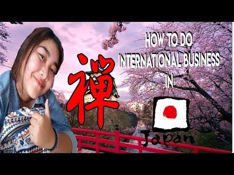 DOING INTERNATIONAL BUSINESS IN JAPAN