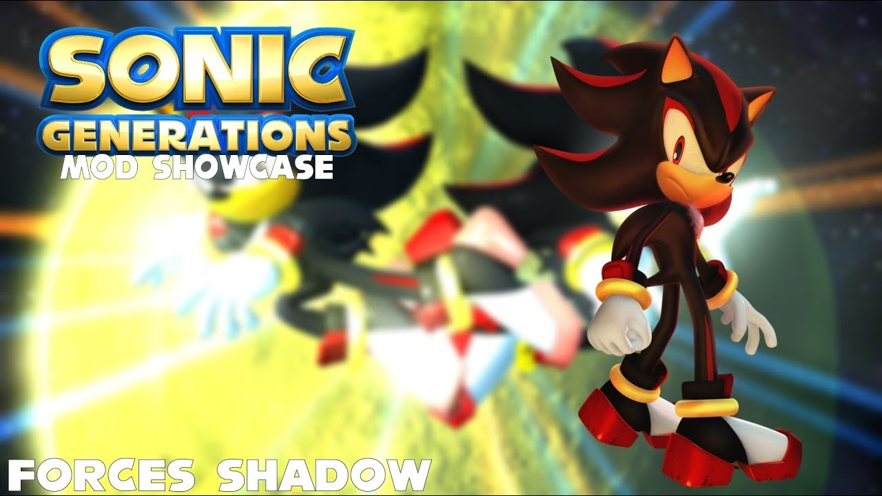 Sonic Generations Mods - Forces Shadow
