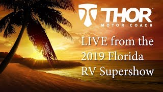 We're LIVE at the 2019 Florida RV Supershow with the Thor Motor Coach Venetian® J40