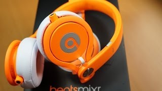 Beats by Dr Dre MIXR NEON ORANGE