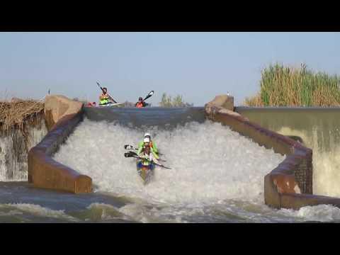Baroda Chute (Weir) | Fish River Canoe Marathon