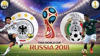 WM 2018: Deutschland vs Mexiko ⚽ Karrieremodus Fifa 18
