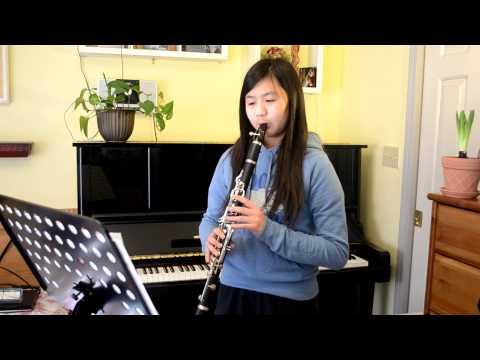 Pop music book for clarinet