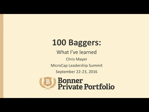 Chris Mayer on 100-Baggers