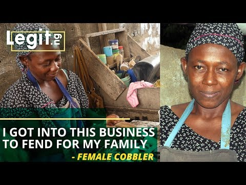 I got into this business to fend for my family - 52-year-old female cobbler reveals | Legit TV