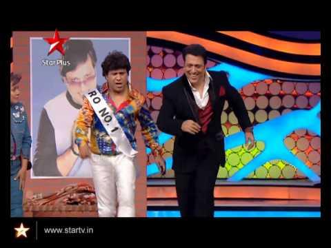 Govinda does his signature steps with Arvind-Neelu