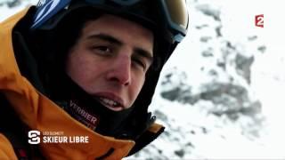 Reportage Stade 2 : Leo Slemett, skieur libre
