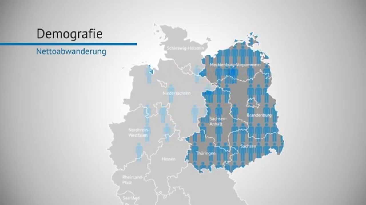 Ostdeutschland 25 Jahre nach der Wende - YouTube