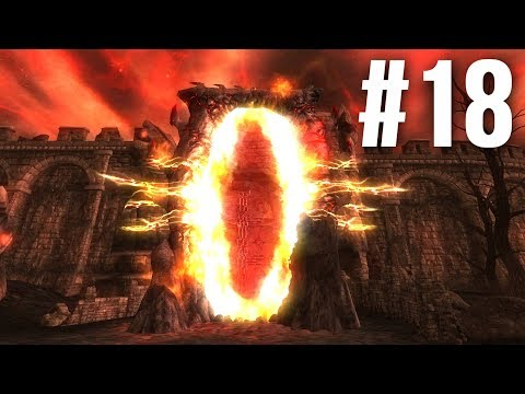Let's 100% Oblivion Part 18 - Open Up The Jaws Of Oblivion