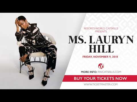 Resorts World Catskills - Ms. Lauryn Hill Concert