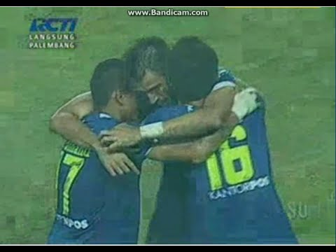 PERSIB VS AREMA FULL GOAL (3-1) SEMIFINAL 04 NOVEMBER 2014 ISL
