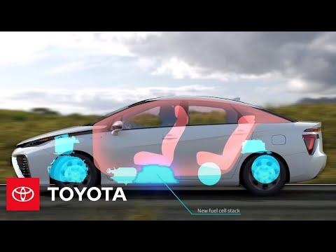 2016 Toyota Mirai FCV – Fuel Cell Stack | Toyota