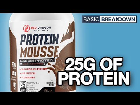 Red Dragon Nutritionals Protein Mousse | Basic Breakdown