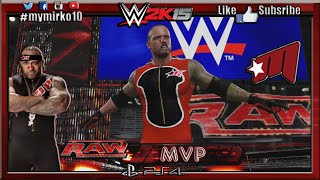 Скачать WWE 2K15 MVP CAW Formula Entrance Finisher