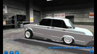 Vaz 2107 Street Legal Racing Avtosh Style
