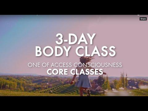 Access Consciousness Body Class