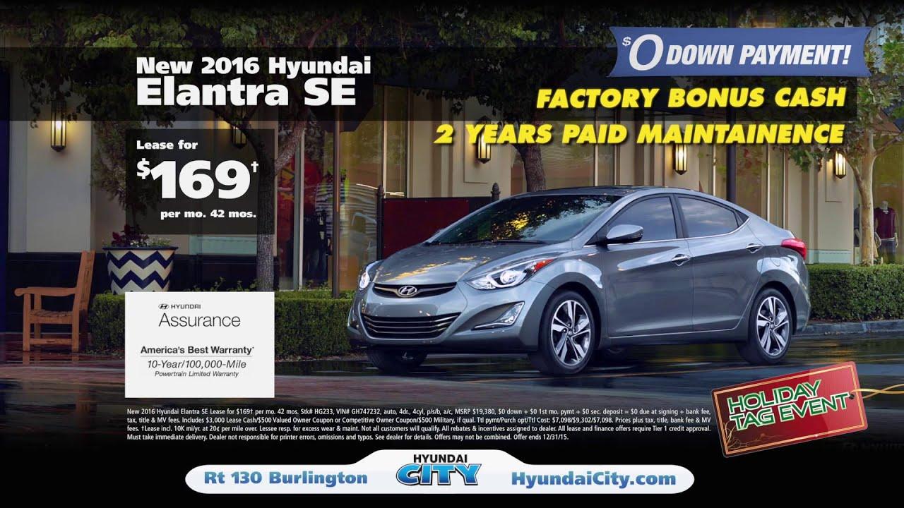 Hyundai City Holiday Clearance HD