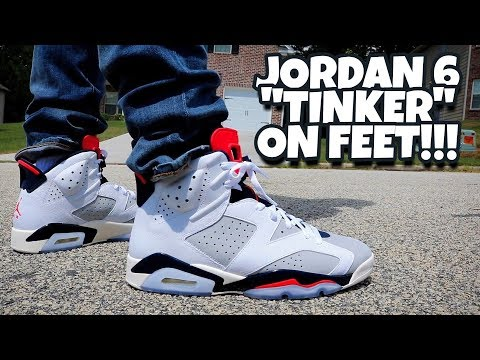 95cce9e6b51 EARLY REVIEW!!! JORDAN 6 TINKER ON FEET!!! - YouTube