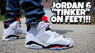 info for 5e410 905ff Jordan 6 Tinker On Feet!