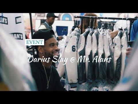 Mr Alans NFL Detroit Lions Jacket Reveal With Darius Slay