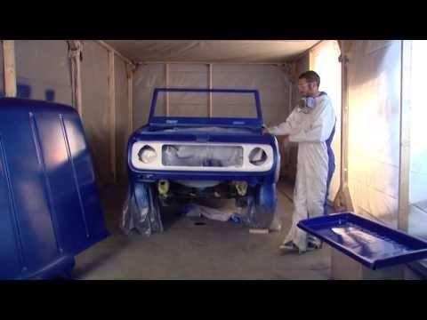 Dupli-Color 1969 Scout Restoration Series Episode 13: Paint Shop Finish System