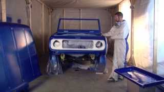 Dupli-Color 1969 Scout Restoration Series Episode 13: Paint Shop Finish System