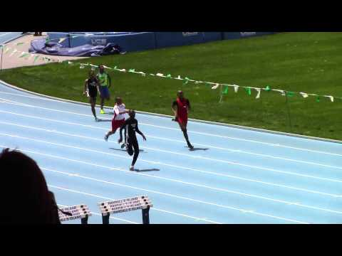 Adrian Taffe - 11/12 boys 200m - Icahn Stadium NY -Youth Challenge Series Meet 3
