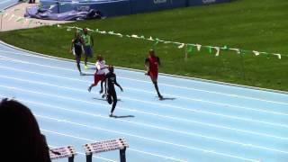 Adrian Taffe - 11/12 boys 200m - Icahn Stadium NY -Youth Challenge Series Meet 3