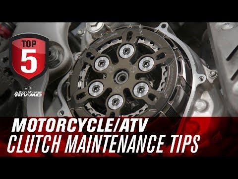Top 5 Motorcycle & ATV Clutch Maintenance Tips