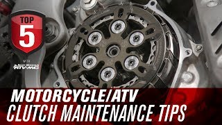 Top 5 Motorcycle & ATV Clutch Maintenance Tips