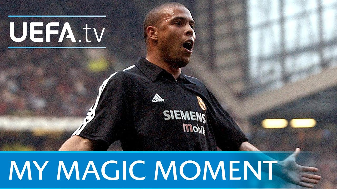 Ronaldo hat-trick for Real Madrid v Manchester United in 2003 - YouTube 02c472680b9