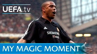 Ronaldo hat-trick for Real Madrid v Manchester United in 2003
