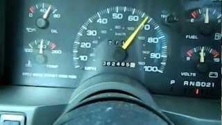 1995 gmc safari test drive .MOV