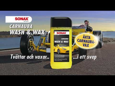 sonax wash and wax youtube. Black Bedroom Furniture Sets. Home Design Ideas