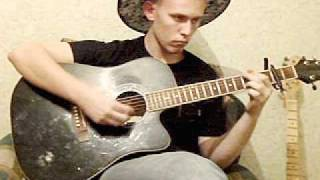 Саундтрек из фильма Сумерки (Twilight) River Flows In You на гитаре
