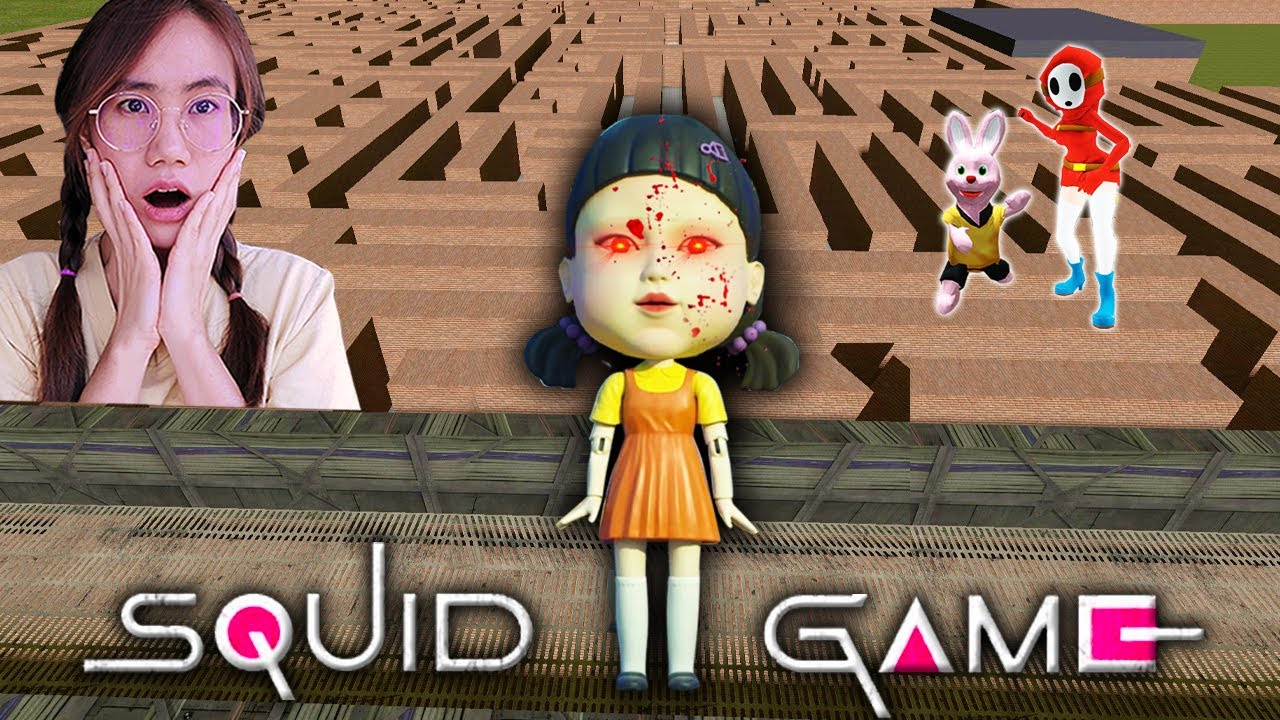 Squid Game ในเขาวงกต ขยับ=ตาย!   Mind&Nat