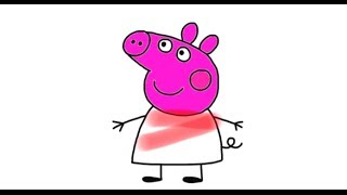 Learn the Colours with Peppa Pig, Dora, Barney and Thomas The Tank Engine - New Longer Version!