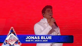 Gambar cover Jonas Blue - 'Rise' FT. Jack And Jack (Live at Capital's Jingle Bell Ball 2018)