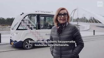Teknologia-Suomi 2020: Robottibussin kyydissä