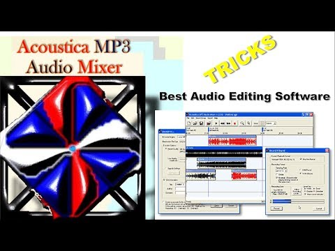 Acoustica MP3 Audio Mixer || BEST AUDIO EDITING SOFTWARE || HOW TO USE ||