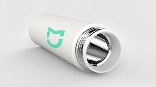 Термокружка Xiaomi MiJia Vacuum Flask - обзор термоса и температурный тест