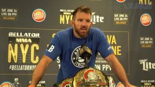 Ryan Bader prepared to hold Bellator title a long time
